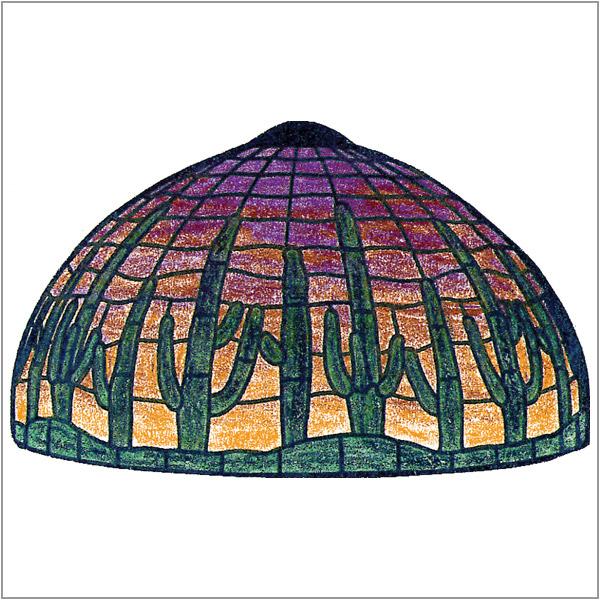Worden - Sunset Saguaro - GF16 - Pattern Packet