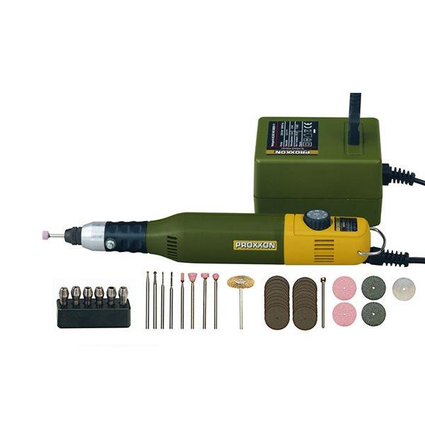 Proxxon Micromot - Feinbohrer & -schleifer zum Polieren und Gravieren - 12V - Variable Geschwindigkeit