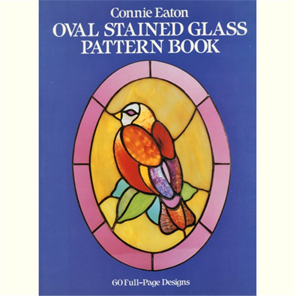 Book - Oval Stained Glass Pattern Book