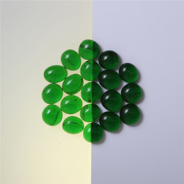 Nuggets - Glass Non-Fusible - 10mm - Dark Green