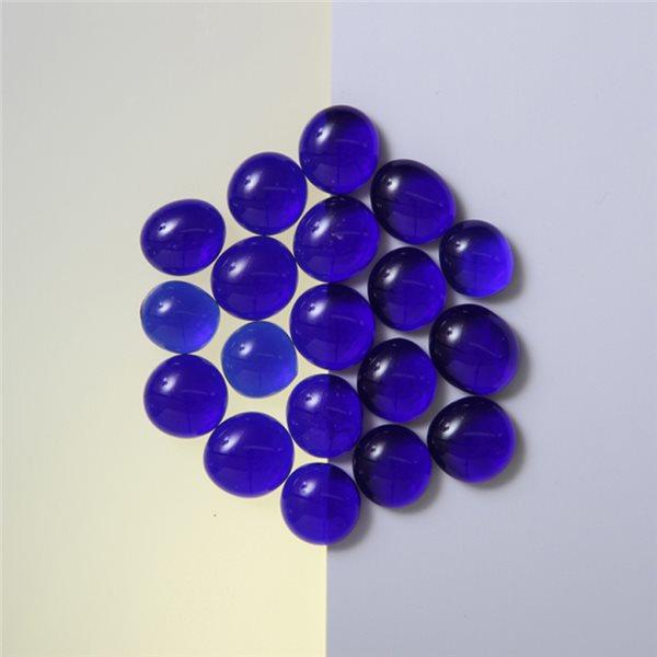 Nuggets - Glass Non-Fusible - 10mm - Dark Blue