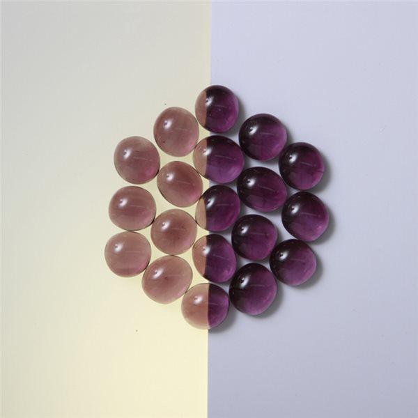 Nuggets - Glass Non-Fusible - 10mm - Purple
