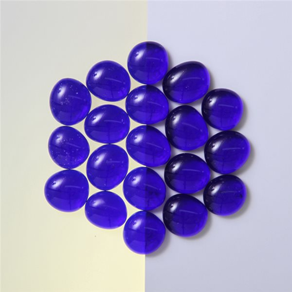Nuggets - Glass Non-Fusible - 15mm - Dark Blue