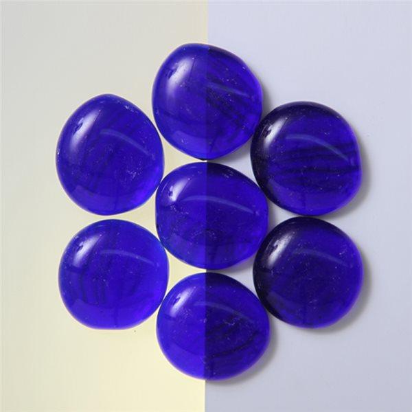 Nuggets - Glass Non-Fusible - 35mm - Dark Blue