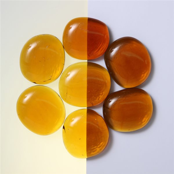 Nuggets - Glass Non-Fusible - 35mm - Amber