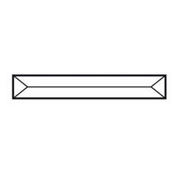 Bevel Pencil - 127x19mm