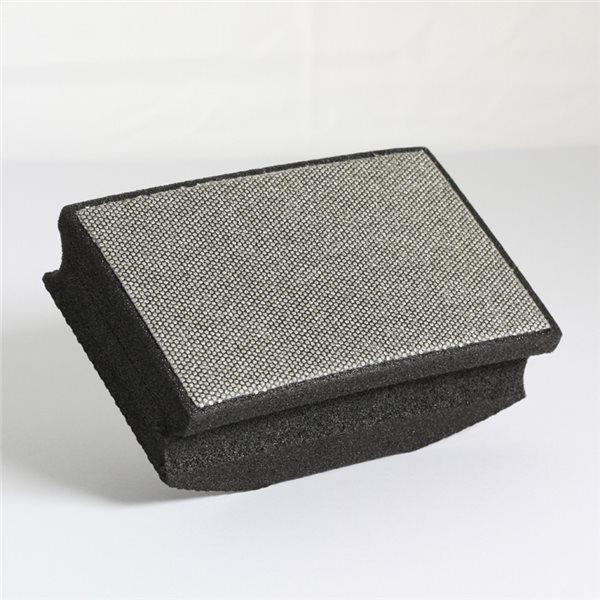 Manchon abrasif diamanté - Noir - Grain 120