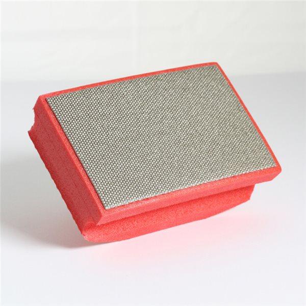 Manchon abrasif diamanté  - Rouge - Grain 200