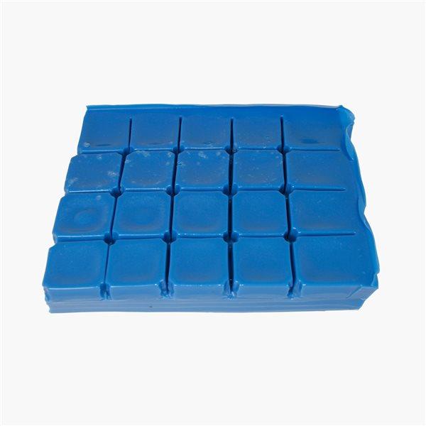 Gelflex Rubber Moulding Compound- Hard - Blue - 1kg