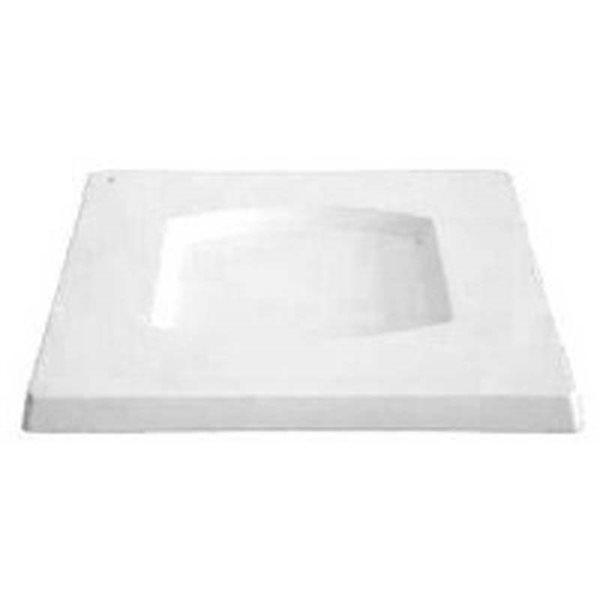 Square Platter - Barrel - 29.2x29.2x2cm - Basis: 17x16cm - Fusing Form