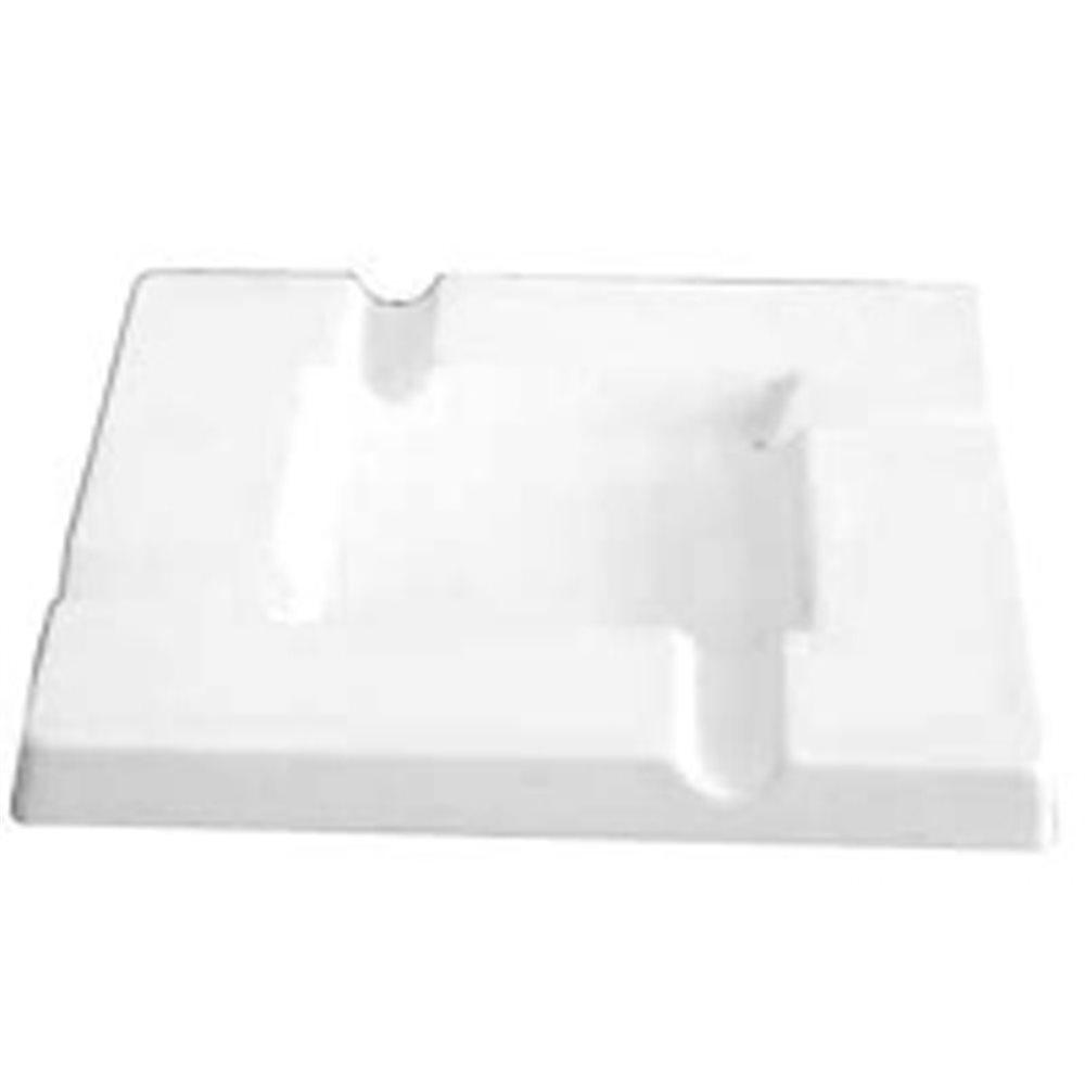 Ashtray - Square - 20.8x20.8x2.1cm - Basis: 10.7x10.7cm - Fusing Form