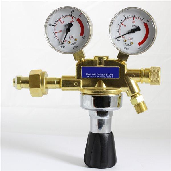Sauerstoff Manometer - 8mm