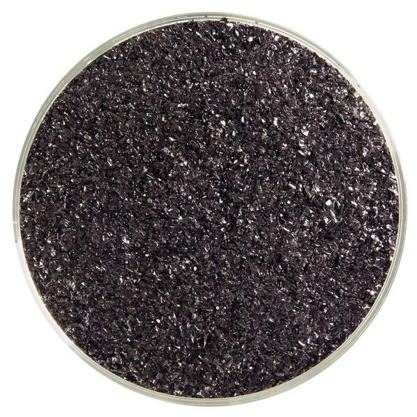 Bullseye Frit - Black - Fine - 2.25kg - Opalescent