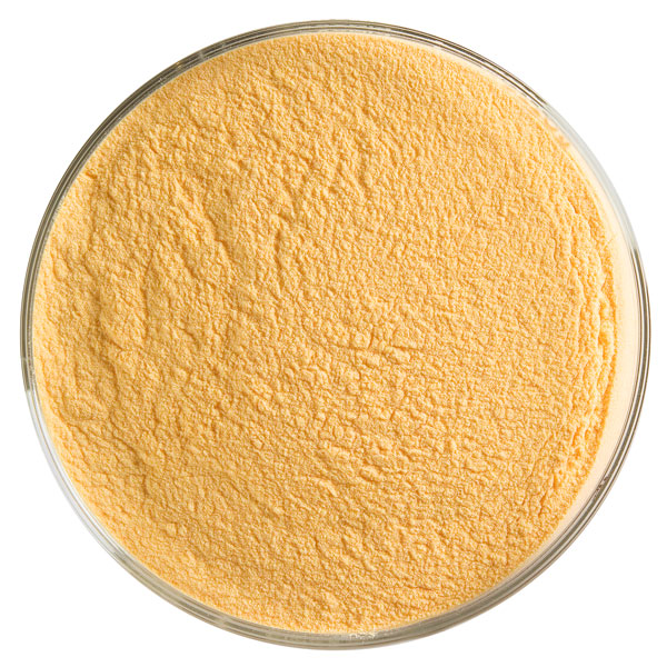 Bullseye Frit - Orange - Powder - 2.25kg - Opalescent