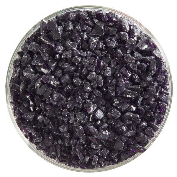 Bullseye Frit - Deep Royal Purple - Coarse - 2.25kg - Transparent