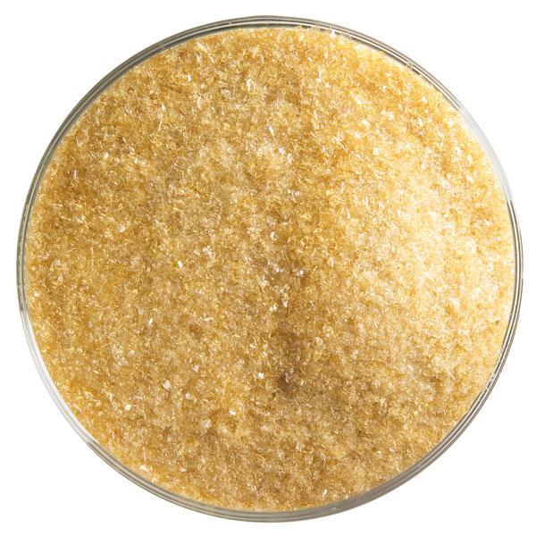 Bullseye Frit - Medium Amber - Fine - 2.25kg - Transparent