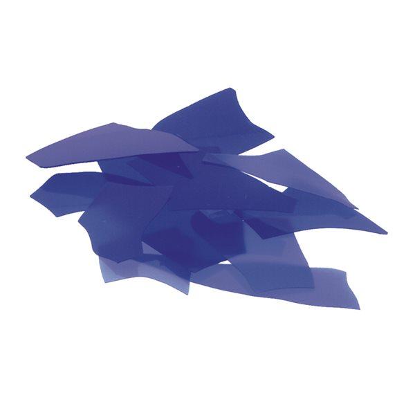 Bullseye Confetti - Cobalt Blue - 50g - Opalescent