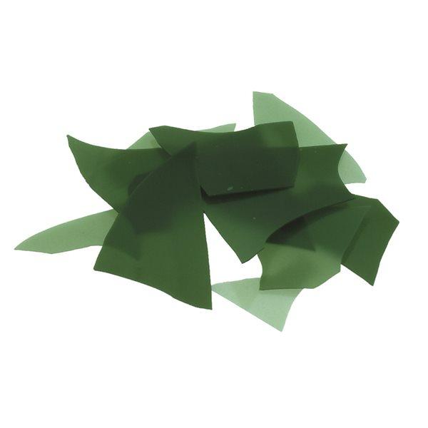 Bullseye Confetti - Mineral Green - 50g - Opalescent