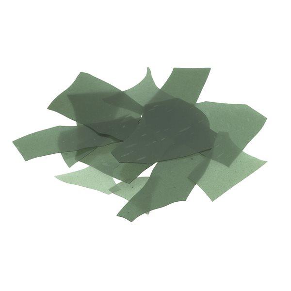 Bullseye Confetti - Aventurine Green - 450g - Transparent