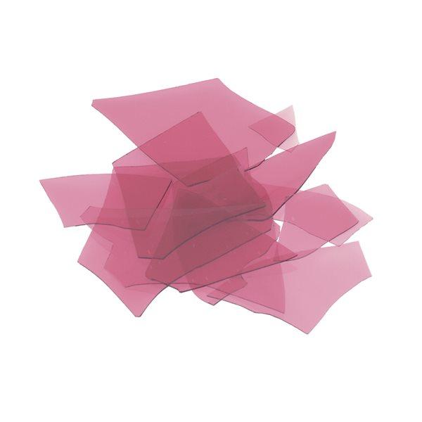 Bullseye Confetti - Cranberry Pink - 450g - Transparent