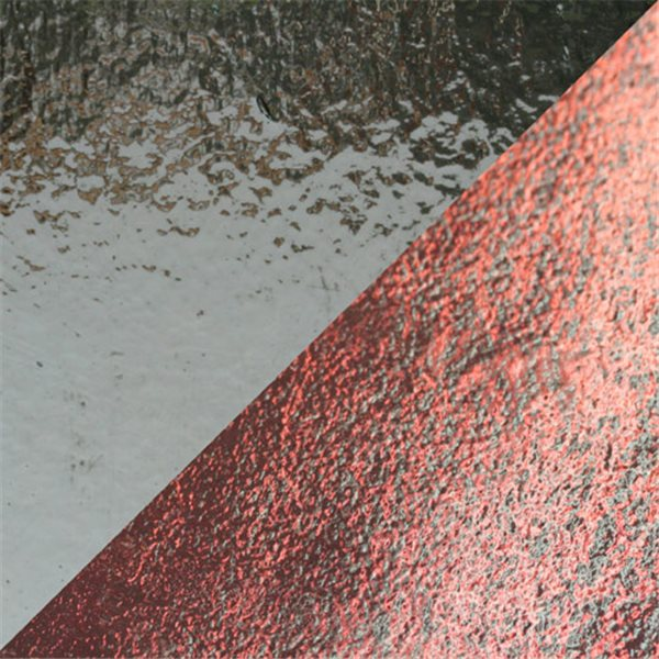 Dichroic - Clear/Red - On Thin Clear - 2mm