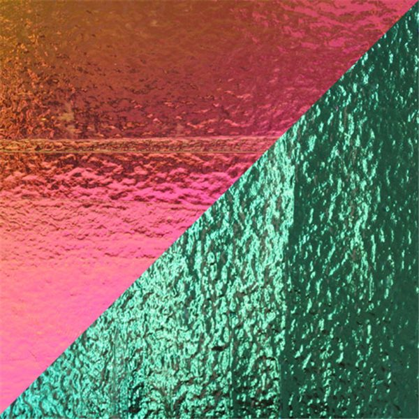 Dichroic - Magenta/Teal - On Thin Clear - 2mm