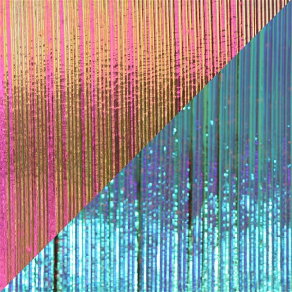 Dichroic - Magenta/Teal - Fibroid - On Clear - 3mm