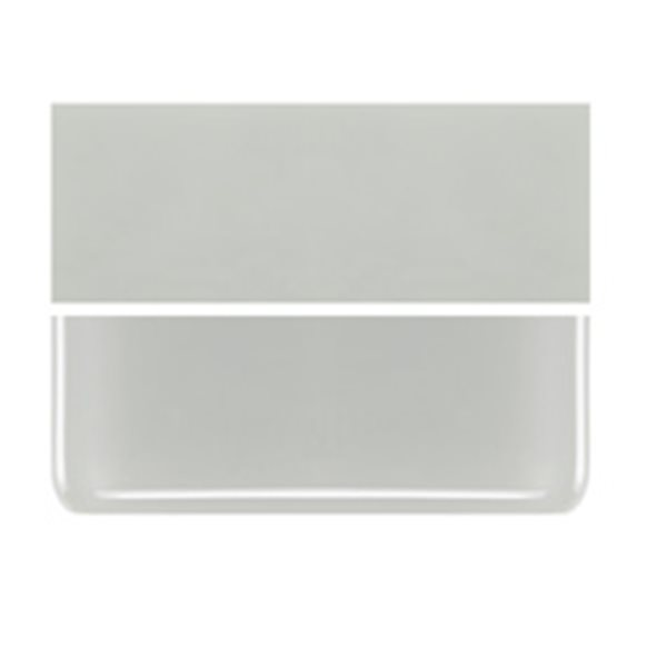 Bullseye Driftwood Gray - Opalescent - 2mm - Thin Rolled - Fusible Glass Sheets