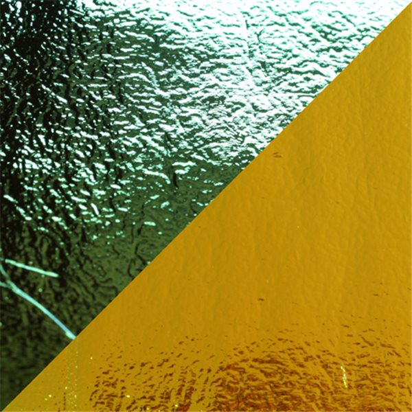 Dichroic - Blue/Yellow - On Thin Black - 2mm