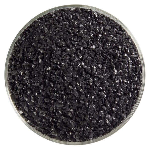 Bullseye Frit - Black - Medium - 450g - Opalescent