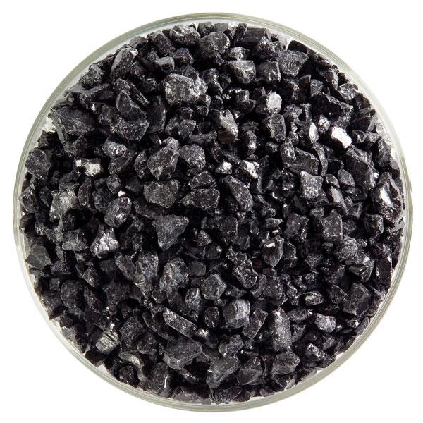 Bullseye Frit - Black - Coarse - 450g - Opalescent