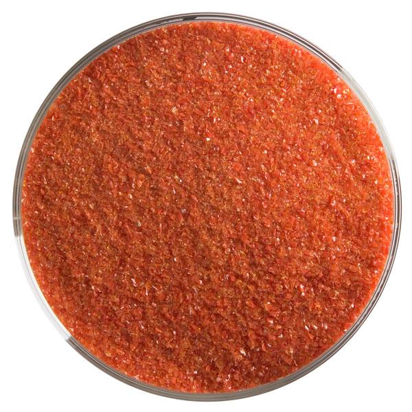 Bullseye Frit - Red Opal - Fine - 450g - Opalescent