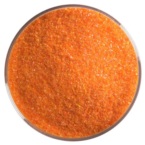 Bullseye Frit - Orange - Fine - 450g - Opalescent