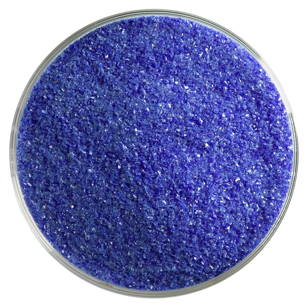 Bullseye Frit - Deep Cobalt Blue - Fine - 450g - Opalescent