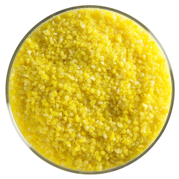 Bullseye Frit - Sunflower Yellow - Medium - 450g - Opalescent