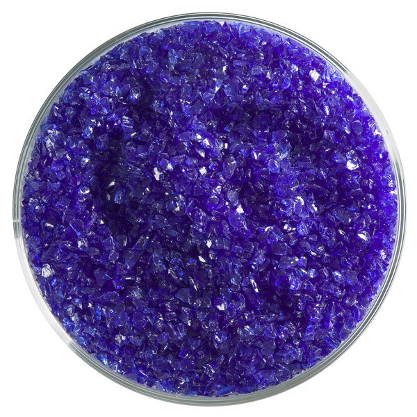 Bullseye Frit - Deep Royal Blue - Medium - 450g - Transparent