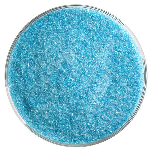 Bullseye Frit - Turquoise Blue - Fine - 450g - Transparent
