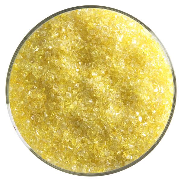 Bullseye Frit - Yellow - Medium - 450g - Transparent