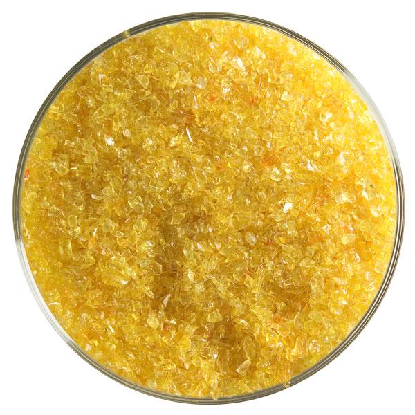Bullseye Frit - Orange - Medium - 450g - Transparent