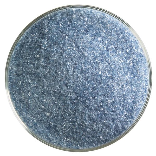 Bullseye Frit - Steel Blue - Fine - 450g - Transparent