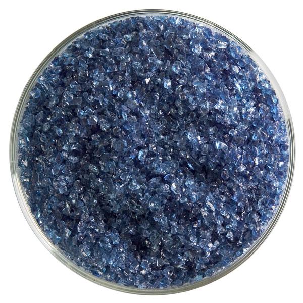 Bullseye Frit - Steel Blue - Medium - 450g - Transparent