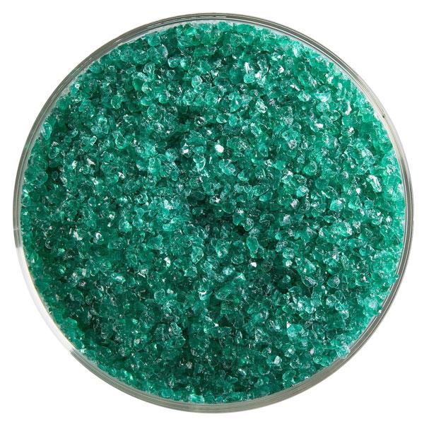 Bullseye Frit - Emerald Green - Medium - 450g - Transparent