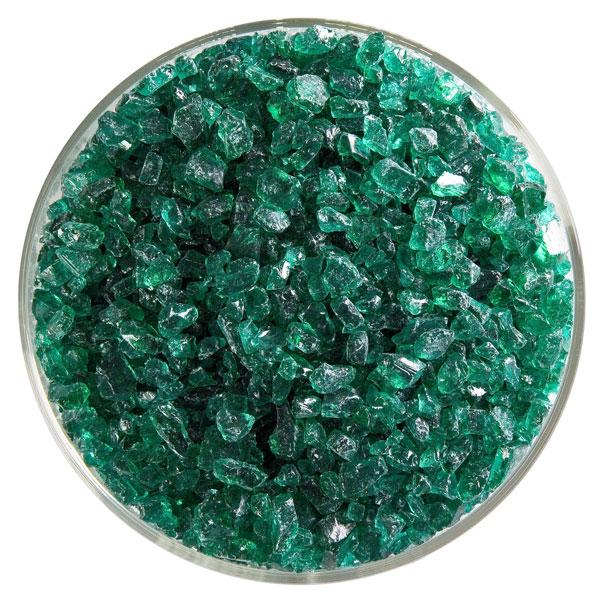 Bullseye Frit - Emerald Green - Coarse - 450g - Transparent