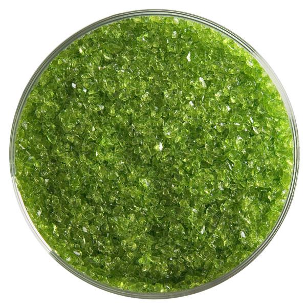 Bullseye Frit - Spring Green - Medium - 450g - Transparent