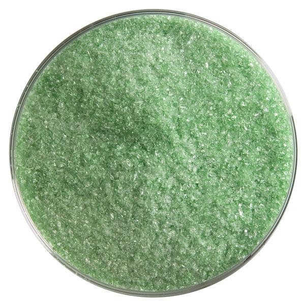 Bullseye Frit - Light Green - Fine - 450g - Transparent
