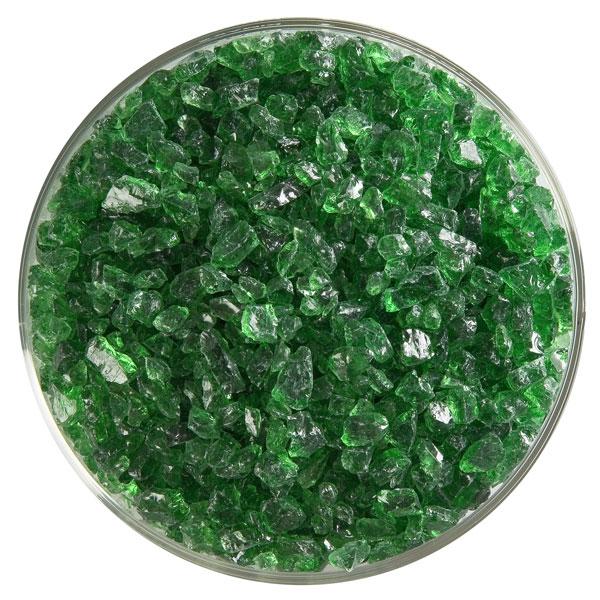 Bullseye Frit - Light Green - Coarse - 450g - Transparent