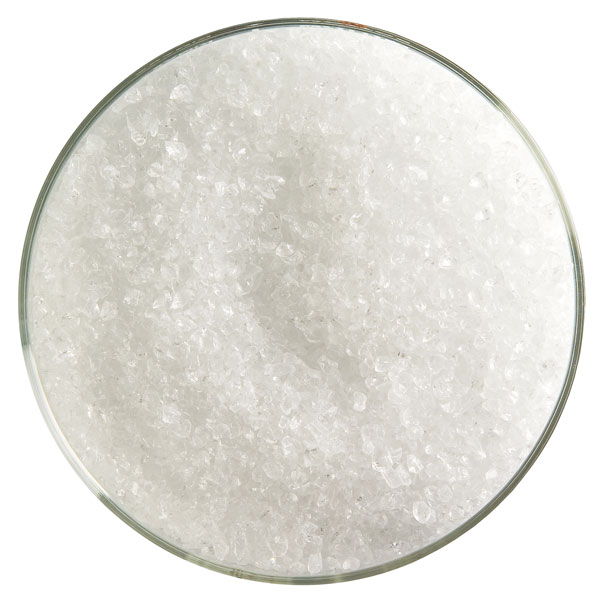 Bullseye Frit - Clear - Medium - 450g - Transparent