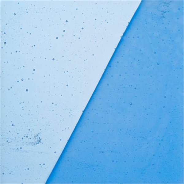 Uroboros Sky Blue - Transparent - 3mm - Fusible Glass Sheets