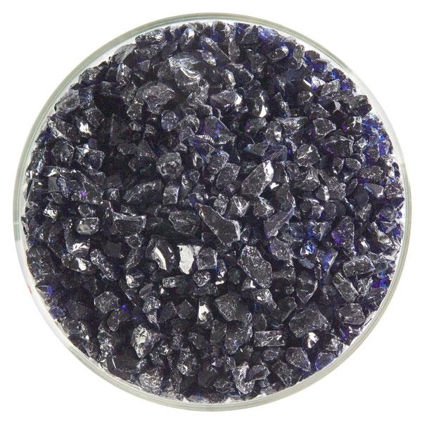 Bullseye Frit - Midnight Blue - Coarse - 450g - Transparent