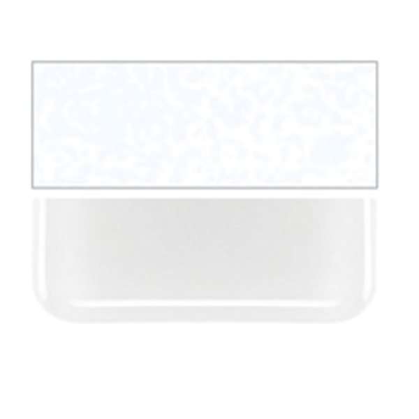 Bullseye Translucent White - Opalescent - 3mm - Fusible Glass Sheets